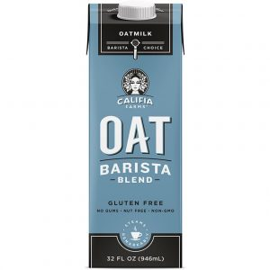 CALIFIA FARMS – OAT MILK – BARISTA BLEND – 1LTS – 6PK