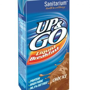 UP & GO – CHOCOLATE – 350MLS – 12PK