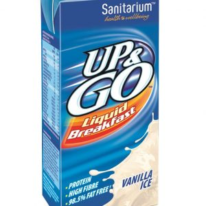UP & GO – VANILLA – 350MLS – 12PK