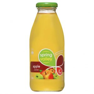 SPRING VALLEY – 375MLS – APPLE JUICE – 24PK