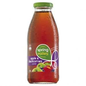 SPRING VALLEY – 375MLS – APPLE BLACKCURRANT JUICE – 24PK