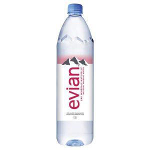 EVIAN WATER – 1.25LTS