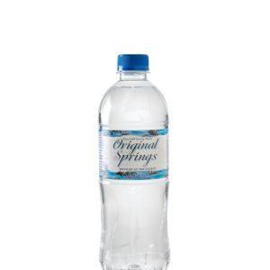600MLS – ORIGINAL SPRINGS WATER – 24PK