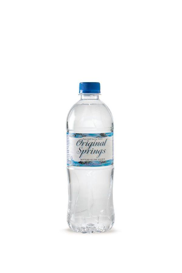 ORIGINAL SPRINGS WATER – 600MLS – 24PK