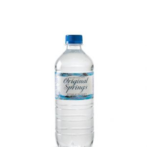 VENDING – 600MLS – ORIGINAL SPRINGS WATER – 24PK