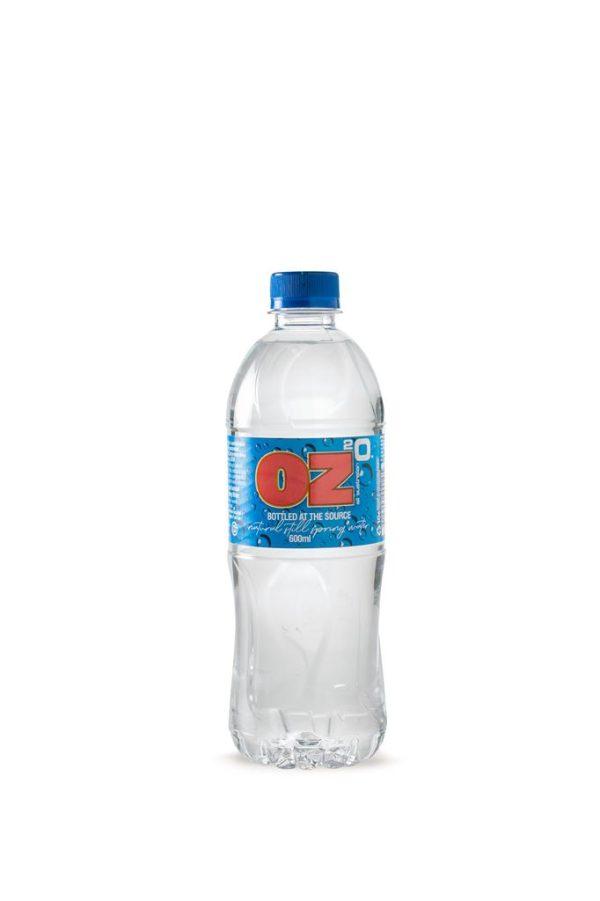 OZ 2 O WATER – 600MLS – 24PK