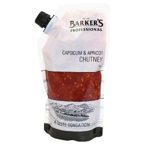 BARKER'S – CAPSICUM & APRICOT CHUTNEY – 1KGS