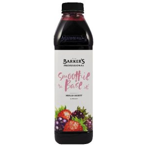 BARKER'S – MIXED BERRY – SMOOTHIE BASE – 1LTS