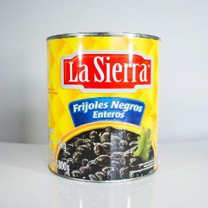 LA SIERRA  – 1 X 3.1KGS – WHOLE BLACK BEANS